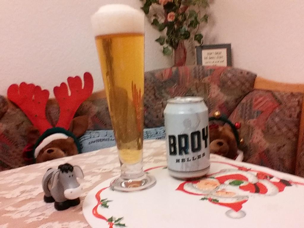 The Beer Tester. Test 1. Broy Helles