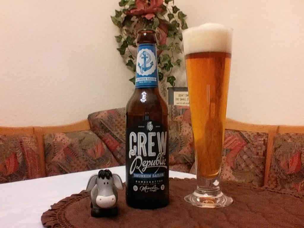 The Beer Tester. Test-10. Crew Republic Drunken Sailor