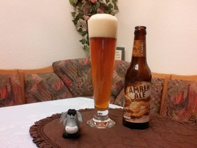 The Beer Tester. Test-11. Camba Amber Ale