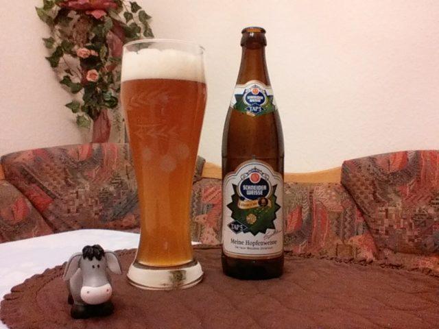 The Beer Tester. Test-12. Schneider Weisse Tap 5 Meine Hopfenweisse