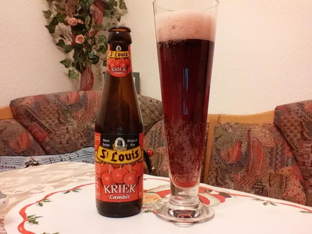 The Beer Tester. Test 2. St. Louis Kriek Lambic