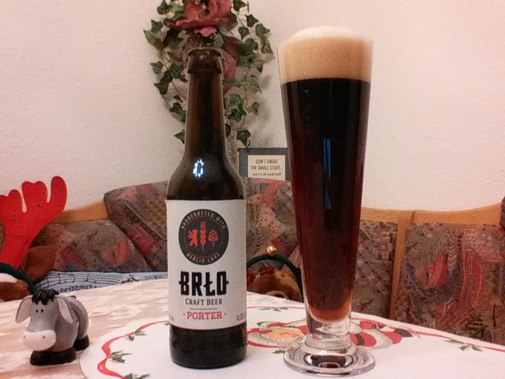 The Beer Tester. Test 4. BRŁO Porter