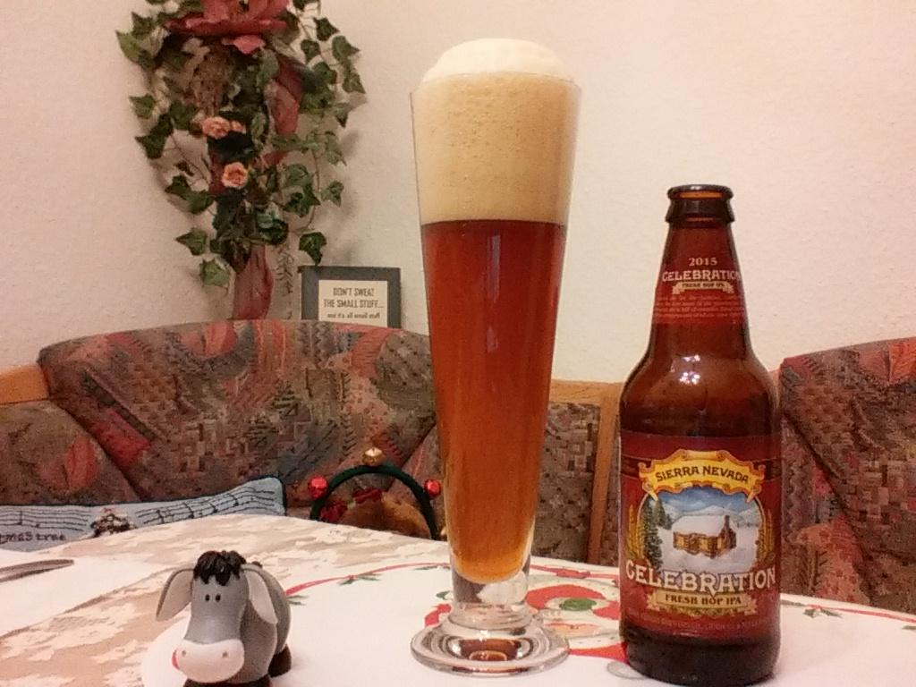 The Beer Tester. Test 5. Sierra Nevada Celebration Fresh Hop IPA