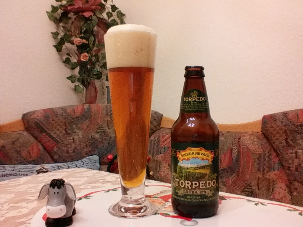 The Beer Tester. Test 6. Sierra Nevada Torpedo Extra IPA