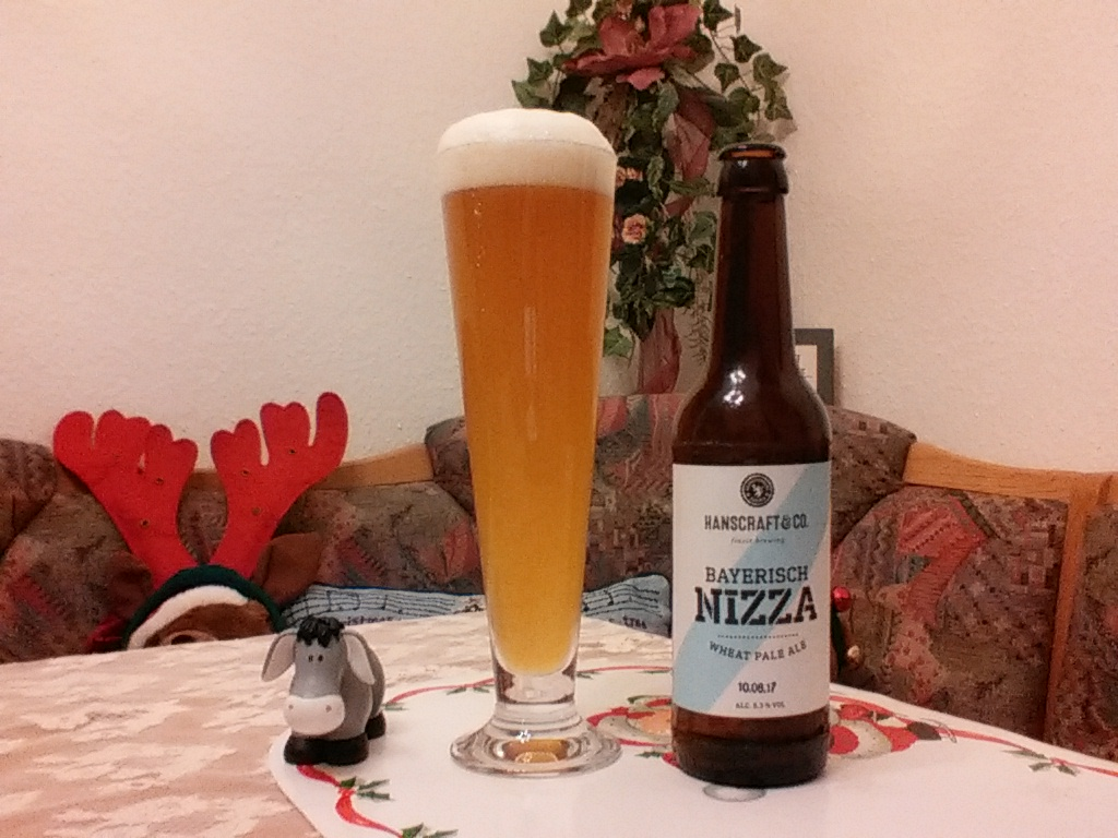 The Beer Tester. Test 8. Bayerisch Nizza Wheat Pale Ale
