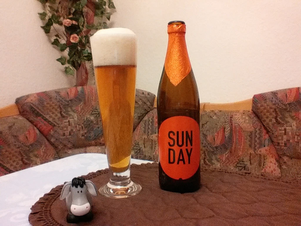 The Beer Tester. Test 9. And Union Sunday Easy Pale Ale